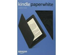 Amazon All-New Kindle Paperwhite Leather Cover Black