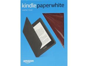 Amazon All-New Kindle Paperwhite Leather Cover Merlot B078TD9MFL