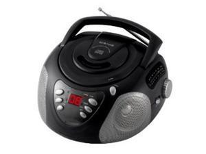 Craig Portable CD Boombox with AM/FM Radio, Black CD6918