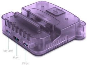Hyperkin RetroN S64 Console Dock for Switch (Purple) - Nintendo Switch