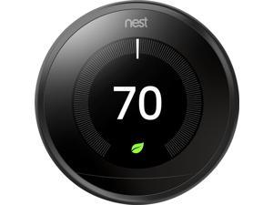 Google Nest Learning Thermostat - 3rd Generation Black Model: T3016US