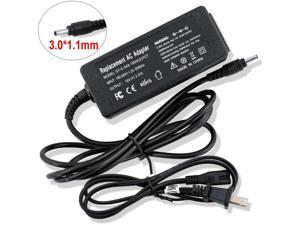 45W  Travel Charger AC Adapter 19V-2.37A for Acer Chromebook CB3 CB5 11 13 14 15 R11 R13 A13-045N2A N15Q9 C731 C738T CB3-532 CB3-431 CB3-131 PA-1450-26 Laptop Power Supply, DC 3.0*1.1mm