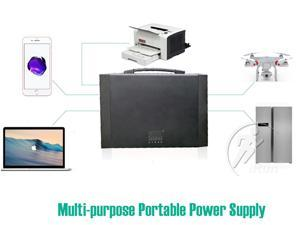 Pure Sine Wave Portable Power Station, 1000Wh Li-ion Battery Powered Generator with 9V 12V 24V DC, AC and USB Outputs