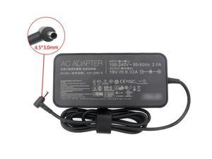 New Slim 19V 6.32A(4.5x3.0mm) 120W PA-1121-28 Original AC Adapter Charger for Asus N501VW Signature Edition, AsusPro Advanced B400 B400A B400V BU400A BU400VC BU401LA B551L Laptop Power Supply