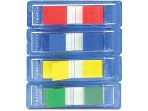 """Sparco Pop-up Removable Small Flag 1/2"""" 140/PK Assorted 19256"""