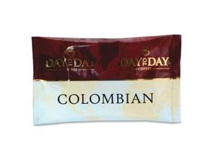 100% Pure Coffee, Colombian Blend, 1.5 oz Pack, 42 Packs/Carton 23001