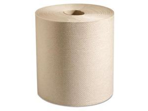 Putney Hardwound Roll Paper Towels, 7 7/8 x 800 ft, Natural, 6 Rolls/Carton