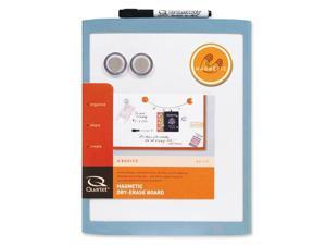 "ACCO MHOW8511 Quartet Dry Erase Board 11"" Width x 8.50"" Height - White Stainless Steel Surface - Plastic Frame - Film - 1 Each"
