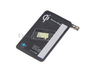QI Wireless Charging Charger Receiver Card for Samsung Galaxy S5 Black