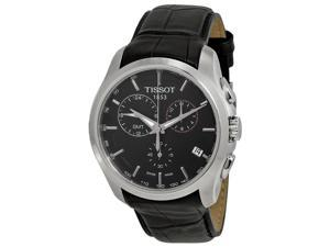 Tissot T-Trend Couturier Chronograph GMT Black Dial Mens Watch T0354391605100