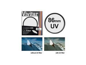 Vivitar VIV-UV-86  86mm Ultra Violet Lens Filter