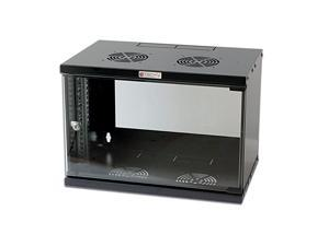 Networking Wall Cabinet 19in 6u, Black