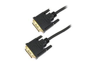DVI-D Dual Link Cable M/M, 6ft