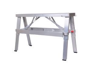 "Adjustable Aluminum Folding Bench Dry Wall 18""-30"""