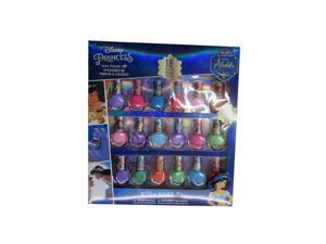 Disney Little Girls Multi Color Assorted Aladdin Peal-able Nail Polish Set
