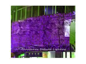 GREAT!Purple light christmas bulb yard hotel decoration LED Purple H011