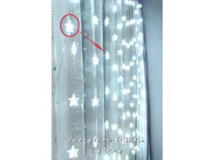 GREAT!Festival lighting backdrop window showcase decoration 1.5*1.6m White H126(1)