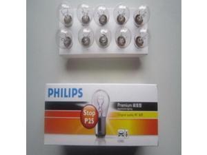Philips bulb twin-wire flat foot brake lights auto bulb 12502 12V 21/5W F196
