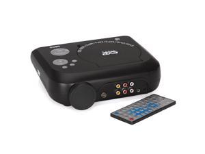 LED Projector With DVD Player - 480x320,40 Lumens,100:1