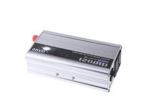 1200W WATT DC 12V to AC 110V Portable Car Power Inverter Charger Converter Transformer