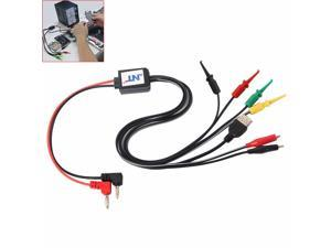 Kaisi DC Power Supply Phone Current Test Cable with USB Output Power Data Cable Mobile Phone Repair Tools for Phones