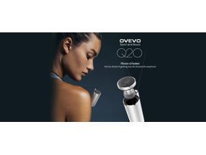 OVEVO Q20 Bluetooth Earphone Wireless Mini Headphone In Ear Headset for Outdoor Sports Driving F22239/F22240 - Silver