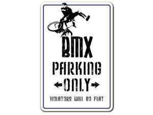 BMX Decal parking race bike trick rider parts racer fun