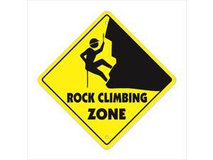 Rock Climbing Crossing Decal Zone Xing Tall clips ropes supplies gear clothes