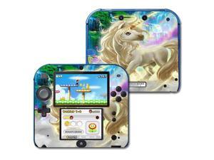Skin Decal Wrap for Nintendo 2DS sticker Unicorn