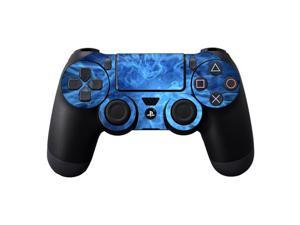 Skin Decal Wrap for Sony PlayStation DualShock 4 Controller Blue Mystic Flame