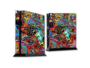 Skin Decal Wrap for Sony PlayStation 4 PS4 Console Acid Trippy