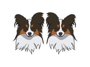 Papillon Dog Decal   Dog Lover Décor Vinyl Sticker