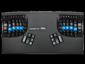 Kinesis KB600QD Advantage2 QD Ergonomic Keyboard for Dvorak Typists