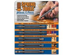 Spring tools WWA1105 Deluxe 5 Piece Finish Carpenters Set