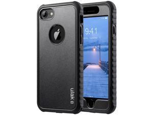 d5212ea6deef29 iPhone 7 Case, ULAK Shock-absorbing Flexible Durability TPU Bumper Case,  Durable Anti