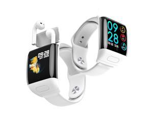 1.3-inch M8 Sport Tracking SmartWatch & TWS Earbuds - Universal Compatibility with Heart Rate, Blood Pressure/Oxygen (SPO2)