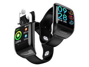 1.3-inch M8 Bluetooth SmartWatch & TWS Earbuds - Universally Compatible + Pedometer + BPM/Blood Pressure/Oxygen(SPO2)