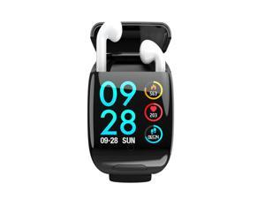 M8 1.3-inch Bluetooth SmartWatch & TWS Earbuds + Pedometer + Heart Rate Monitor, Blood Pressure/Oxygen(SPO2)