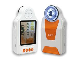 "Indigi® Portable Digital Microscope / Magnifier 10x - 500x 2.7"" LCD 4x LED Light"