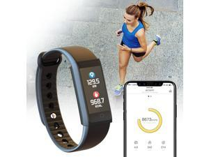 Fitbit Surge Bluetooth Heart Rate Activity Fitness GPS Super Watch Black  Small - Newegg com