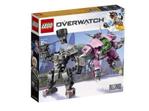 LEGO Overwatch D.Va & Reinhardt 75973 Building Kit (455 Piece)