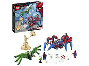 LEGO Marvel Spider-Man: Spider-Mans Spider Crawler 76114 Building Kit (418 Piece)