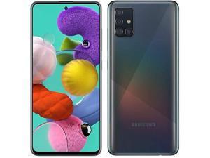 Samsung Galaxy A51 Smartphone with 128GB Memory, Unlocked Cellular - Prism Black