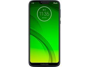 Motorola - Moto G7 Power with 32GB Memory Cell Phone (Unlocked) - Marine Blue