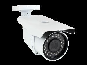 5MP 1920p 4-in-1 HD TVI / AHD / CVI / 960H 1200TVL CCTV Outdoor Weatherproof Security Camera, 6-22 mm Varifocal Zoom Lens, 36 LED, 196-Feet IR Distance
