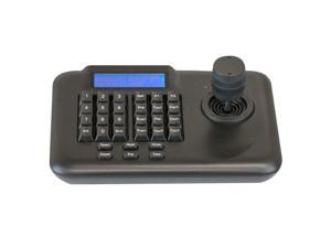 GWSDK76 PTZ Camera Control Security Speed Dome Camera 3D Keyboard Controller Using 3 Axis Joystick to Control the Pan / Tilt Direction and Speed of the Dome Camera