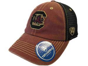 new product 7d3c9 5e650 ... closeout south carolina gamecocks tow red black past mesh adjustable snapback  hat cap 14e39 d2567