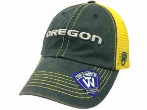 62ae51356f17b Oregon Ducks TOW Green Yellow Crossroads Mesh Adjustable Snapback Hat Cap