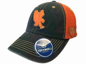 ece86040f0cf2 Auburn Tigers TOW Navy Orange Past Mesh Adjustable Snapback Slouch Hat Cap
