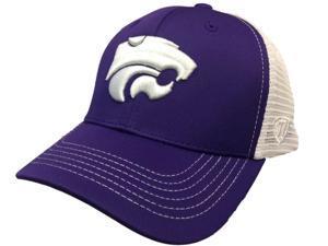 cdbeecf635497 Kansas State Wildcats TOW Purple Ranger Mesh Adjustable Snapback Hat Cap